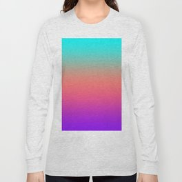 Sunset shades on the sea Long Sleeve T-shirt