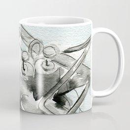 Tuba pistons Coffee Mug