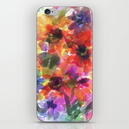 Sunflower Carnival iPhone Skin