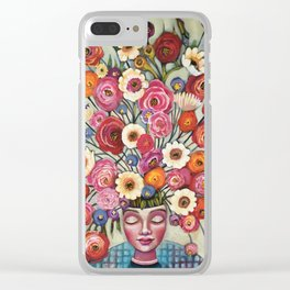 Your thoughts are seeds Clear iPhone Case