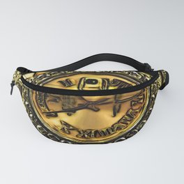 Gold Nugget Diamond Watch Fanny Pack