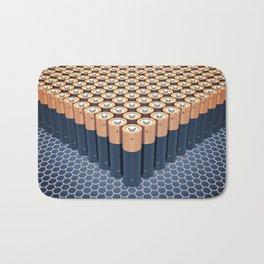 Batteries Bath Mat