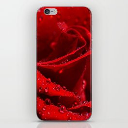Fire of love iPhone Skin