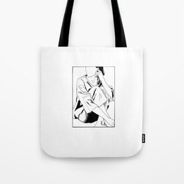 The Girl in a Box 2 - Withdrawn Tote Bag