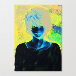 White L - Death Note Canvas Print