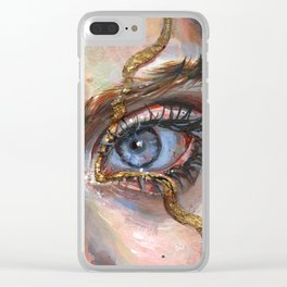 Gilded Clear iPhone Case