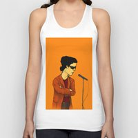lou reed Tank Tops featuring Lou Reed by Nick Gibney