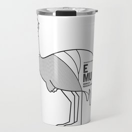 Emu, Wildlife of Australia Travel Mug