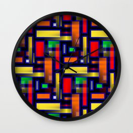 Color Merge Wall Clock