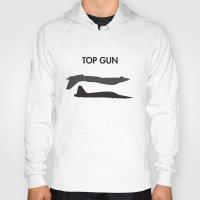 top gun Hoodies featuring Top Gun  by NotThatMikeMyers