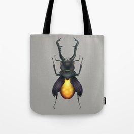 Amber Beetle Tote Bag