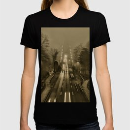 Lions Gate in the Fog 02 T-shirt