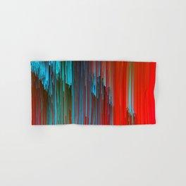 California Dreamin' - Abstract Glitch Pixel Art Hand & Bath Towel