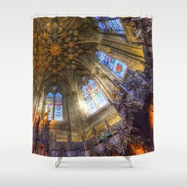 The Thistle Chapel St Giles Cathedral Edinburgh Shower Curtain