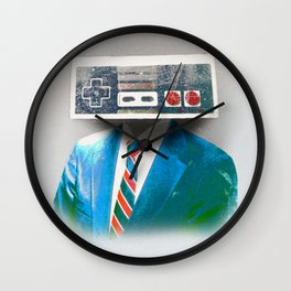 Faces of the Past Console alt_no stripes Wall Clock