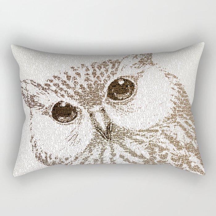 The Intellectual Owl Rectangular Pillow