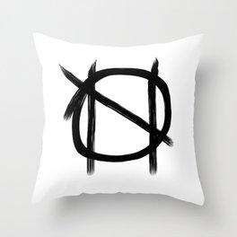 nihilistic impulses Throw Pillow