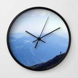 Push Your Boundaries Wall Clock