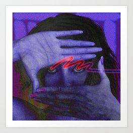 NEON Grunge 001 Art Print