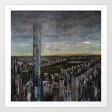 432 Park Ave Art Print