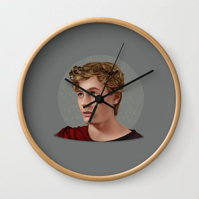 THE BOY WHO COULDN'T HOLD HIS BREATH UNDERWATER Wall Clock