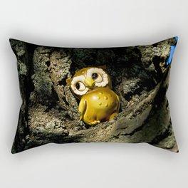 Harvey the Owl I Rectangular Pillow