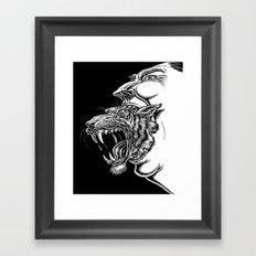 Seven Deadly Sins: Anger Framed Art Print