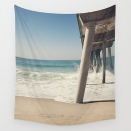 Hermosa Beach Pier Wall Tapestry