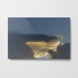 Morning Cloud Formation Metal Print