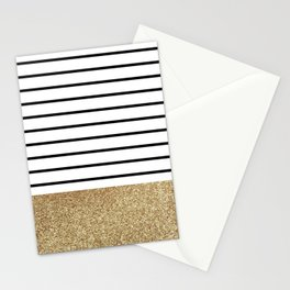 MaRINiera with gold  Stationery Cards