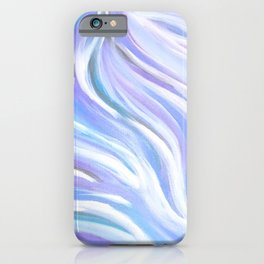 Swirly, Intuitive Abstract Art made with Acrylic Paint. Dream art. Flow iPhone Case