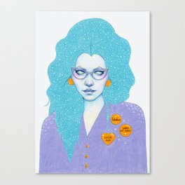 Sassy Club Canvas Print