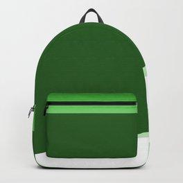 Green Background Wave Backpack