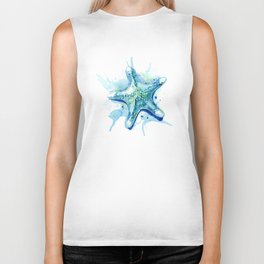 Starfish Waters II Biker Tank