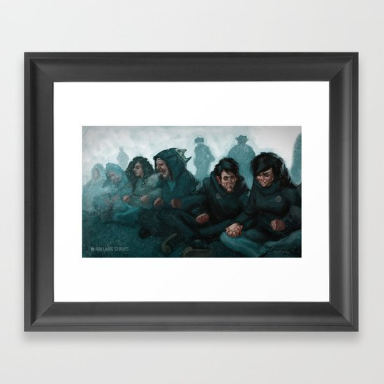 """We are the revolution"" Framed Art Print"