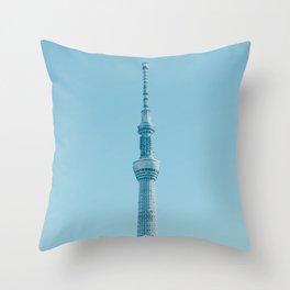Tokyo Japan Skytree Throw Pillow