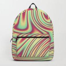 Cherry Lemon Lime Ribbon Candy Fractal Backpack