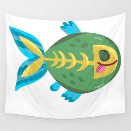 Cute Piranha Wall Tapestry