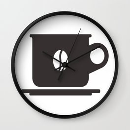 Cup of coffee Wall Clock