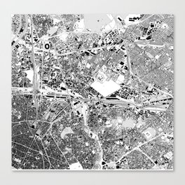 paris rhs-top Canvas Print
