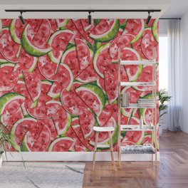 Watermelons Forever Wall Mural