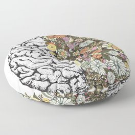 Anatomy Brain Floor Pillow