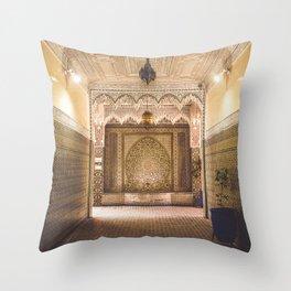 Marrakech Artisan Palace Throw Pillow