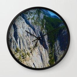 Morrow Canyon in Jasper National Park, Canada Wall Clock