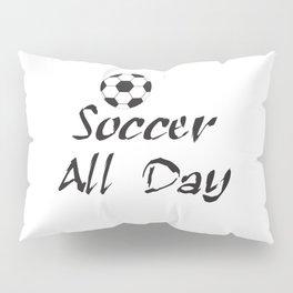 Soccer Shirts for Women, Soccer Shirts for Men, Soccer Mom Shirt, Love Soccer T-shirt, Soccer Gift, Pillow Sham