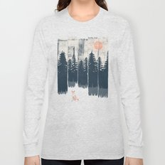 A Fox in the Wild... Long Sleeve T-shirt