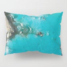 Turquoise & Gold Pillow Sham