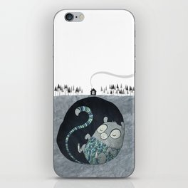 Let's bore for geothermal energy! iPhone Skin