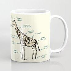 Anatomy of a Giraffe Mug