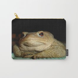A Common Toad With Philosophical Disposition Carry-All Pouch